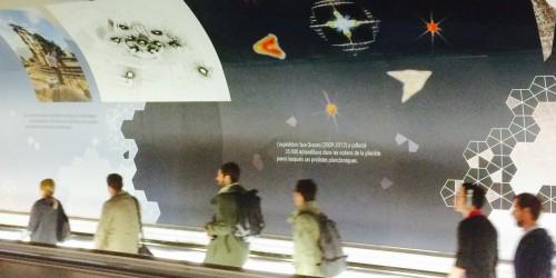 Le plancton s'affiche dans le métro parisien