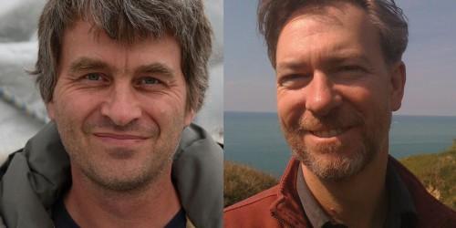 Pascal Hingamp et Chris Bowler, coordinateurs du groupe de travail Bioinformatique et modélisation des écosystèmes