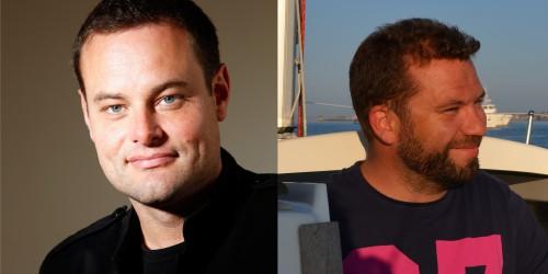 Colomban de Vargas, coordinateur scientifique, et Damien Guiffant, manager de projet d'OCEANOMICS